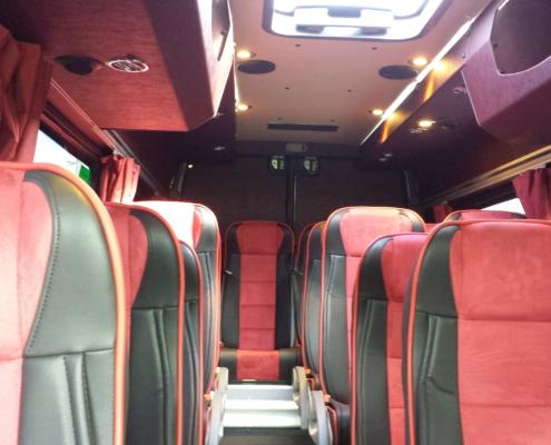 Аренда автобусов и микроавтобусов в Риге. Rent of buses and minibuses