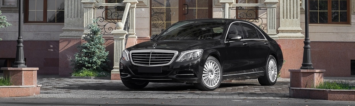 Rent of mercedes S class