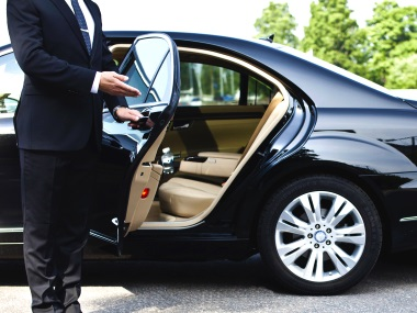 Rent a car executive class, Personal driver