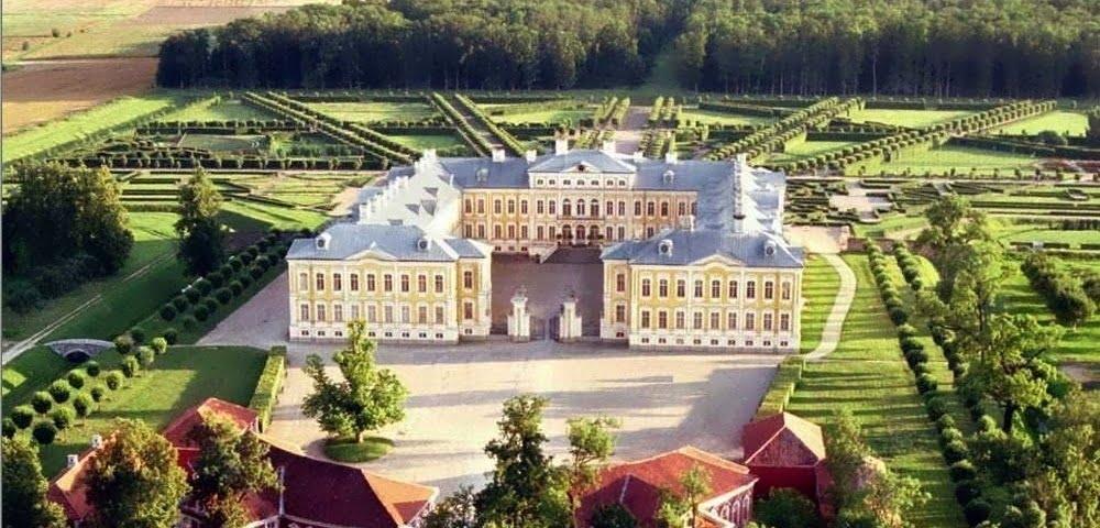 Palace Rundale Latvija