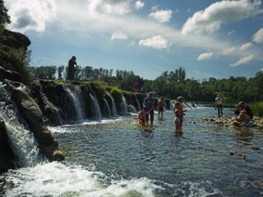 Waterfall in Kuldiga